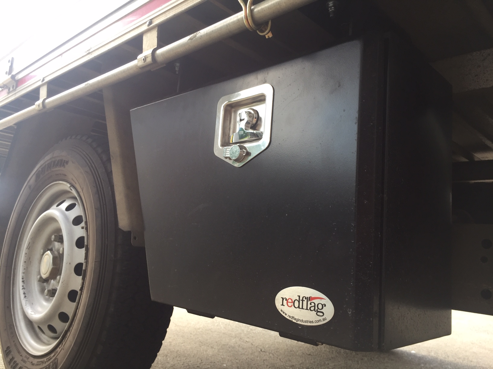 Wheel Arch Tool Boxes