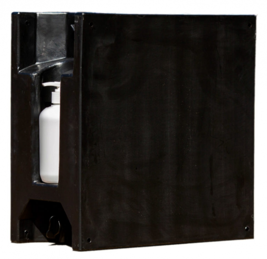 23 Litre Plastic Water Tank (with Soap Bottle)