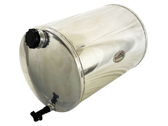 50 Litre Polished Stainless Steel Water Tank